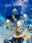 2021 Disney World 50th Anniversary Castle Christmas Ornament Glass New In Hand