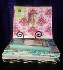 Lot of Scrapbook Kits  Albums Marcella  Simply K Colorbok Stickers  Papers