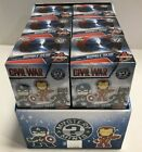 LOT 12 FUNKO MYSTERY MINIS AVENGERS BOBBLEHEADS NEW IN DISPLAY CASE #00398089