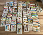 Vintage Simplicity Vogue Butterick McCalls Sewing Patterns Lot Over 100