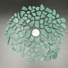 BEACH GLASS 100+ Pieces Sea Glass Surf Tossed Green Shades