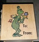The grinch to fromall night media Christmas B003rubber woodmounted