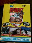 1991 Topps Desert Storm Trading Card 36ct Full Box Unopened Cards Victory Series