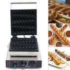 Electronic Commercial Electric Lolly Waffle Stick Baker Machine Waffle Maker USA