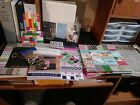 Craft Paper Pack and misc Whole lot of craft paper Some new some not