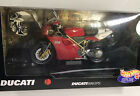 Rare Hot Wheels Red Ducati 996SPS Motorcycle Diecast Plastic 110 NEW READ
