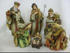 Amazing Detail Nativity Set 6 Pieces 18in Issued By Hobby Lobby 2008 New in Box