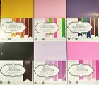 LOT 6 PACKS Coredinations Premium Smooth Cardstock 290 SHEETS NEW 26 Colors