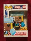 Funko POP! Marvel Holiday Gingerbread Thor Hot Topic Diamond Edition + Protector