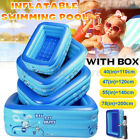 Extra Large Inflatable Swimming Pool Above Ground for Adults Kids Famil SS US