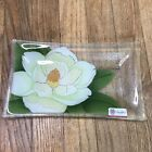 Peggy Karr Fused Glass Magnolia Flower Tray Serving Floral