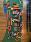 Hot Wheels Track With Connectors BGX89 with Marvel And Other Add Ons