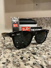 Authentic Ray Ban 2140 Classic Wayfarer 901A 54mm Black Frame Gray Lenses New