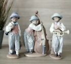 LLADRO 3 PIECE JAZZ BAND, PERFECT CONDITION
