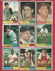 1961 Topps Football Cards 15