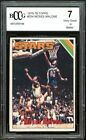 1975-76 Topps #254 Moses Malone Rookie Card BGS BCCG 7 Very Good+