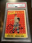 1958 Topps Mickey Mantle All Star #487 PSA DNA ( Signed Auto ) Gem Mint 10
