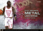 2021 Upper Deck Skybox Metal Universe Champions Hobby Box (Presell)