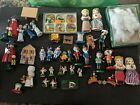 SET Lot Of 40 German Wooden Ornaments Hirschmann Smoking Ornaments and More