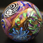 HUGE James Alloway Paperweight Marble EARLY 2004 4 Gaffers Revenge 338 Inches