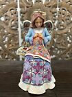 Jim Shore Heartwood creek sew angelic quilting angel figurine w tag