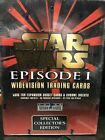 Star Wars Episode 1 Topps Widevision Trading Card Box