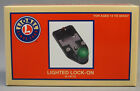 LIONEL TRAIN TRACK LIGHTED LOCKON O 027 lock on terminal connection 6 14112 NEW