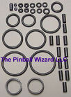 Cactus Canyon Pinball Machine Black Rubber Ring Kit