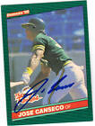 Jose Canseco Cards, Rookie Cards and Autographed Memorabilia Guide 38