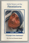 MOTHER TERESA MOTHER TERESAS REVELATIONS A One Act Play Signed by Author RARE
