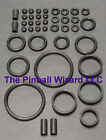 1994 Williams Road Show Pinball Machine Black Rubber Ring Kit