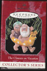 1998 Hallmark The Clauses on Vacation Ornament Dated NIB NEW