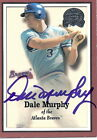 DALE MURPHY Autographed 2000 Greats of the Game # 100