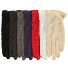 Women's Gothic leather lace lolita sexy gloves 7 color