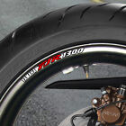 FJR 1300 WHEEL RIM STICKERS DECAL A AE AS  B