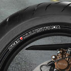 DUCATI MULTISTADA WHEEL RIM STICKERS 1100 1200 620 DS