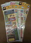 American Traditional EMBOSSED STICKERS ACID FREE Scrapbooking Papercrafting NEW