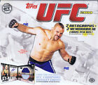 2010 TOPPS UFC SERIES 4 FACTORY SEALED HOBBY BOX
