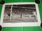 England Gordon Banks Signed Limited Edition 1970 World Cup Pele Save Print