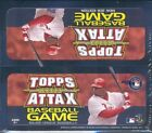 2011 Topps Attax Baseball Game Factory Sealed Box