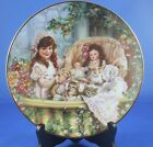 Cats in the Cradle Collector Plate Sandra Kuck Third Issue Hearts and Flowers