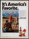 Vintage 1973 Seagram's Whiskey Seven 7 Crown Magazine Ad