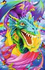 1000 pcs jigsaw puzzle: Metallic Collection - Dragon (Tattoo Art, Dragons)