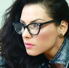 Vintage Retro Style Black Frame Clear Lens Women Sexy Cat Eye Eyeglasses Eyewear