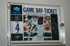2007 UD Black Game Day Ticket Autographs PEARL Curtis Granderson Auto 1 1