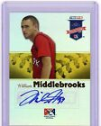 Will Middlebrooks 08 Tristar Projections YELLOW REFLECTIVE AUTO Rookie SP 20 25