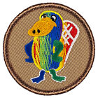 Awesome Boy Scout Patches- Tie Dye Platypus Patrol! (#447)