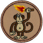 Awesome Boy Scout Patches Fire Monkey Patrol 457