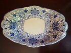 VERY RARE MASONS BOW BELLS BLUE & WHITE IRONSTONE CHINA LARGE TUREEN UNDERPLATE