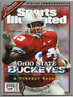 MAURICE CLARETT SIGNED 2002 14-0 OHIO STATE SPORTS ILLUSTRATED PSA DNA CERTIFIED